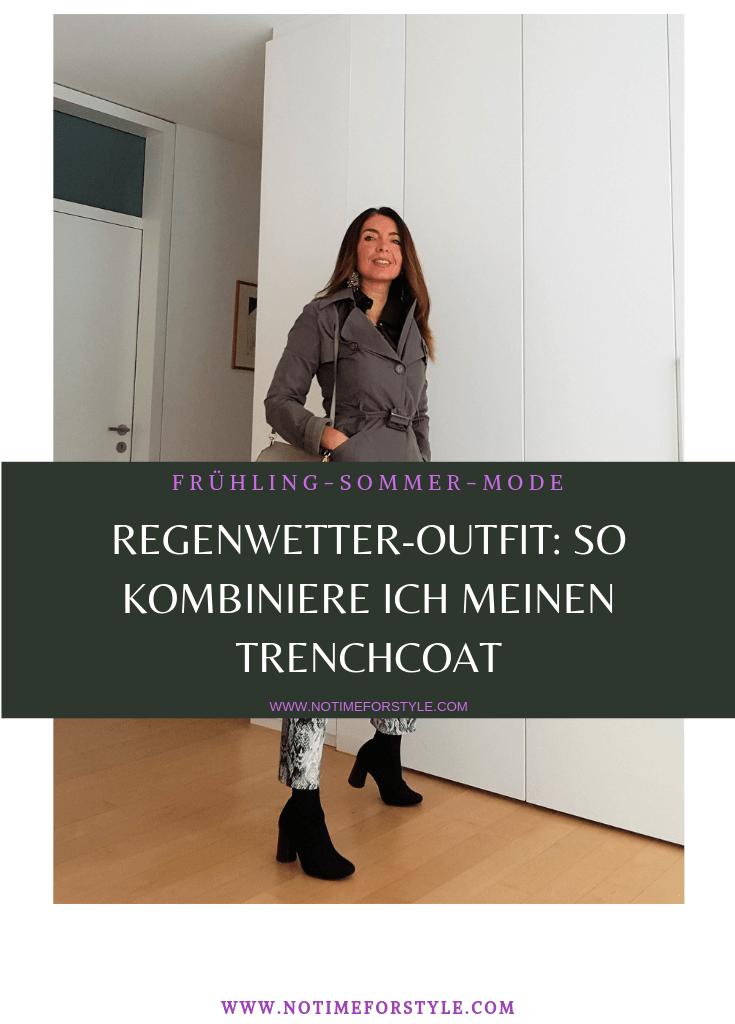 Frühling-Sommer-Look: Regenwetter-Outfit