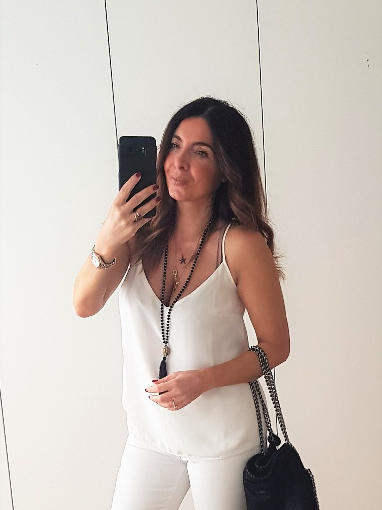 Look estivi: total white per la sera