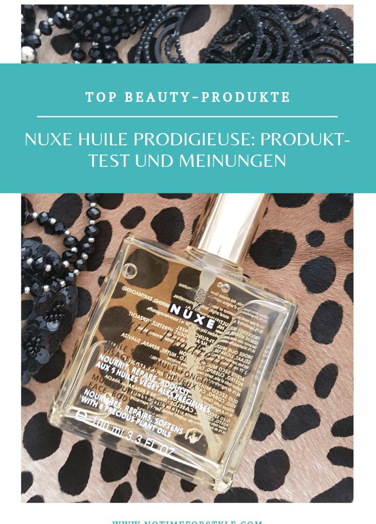 Nuxe Huile Prodigieuse: Produkttest und Meinungen