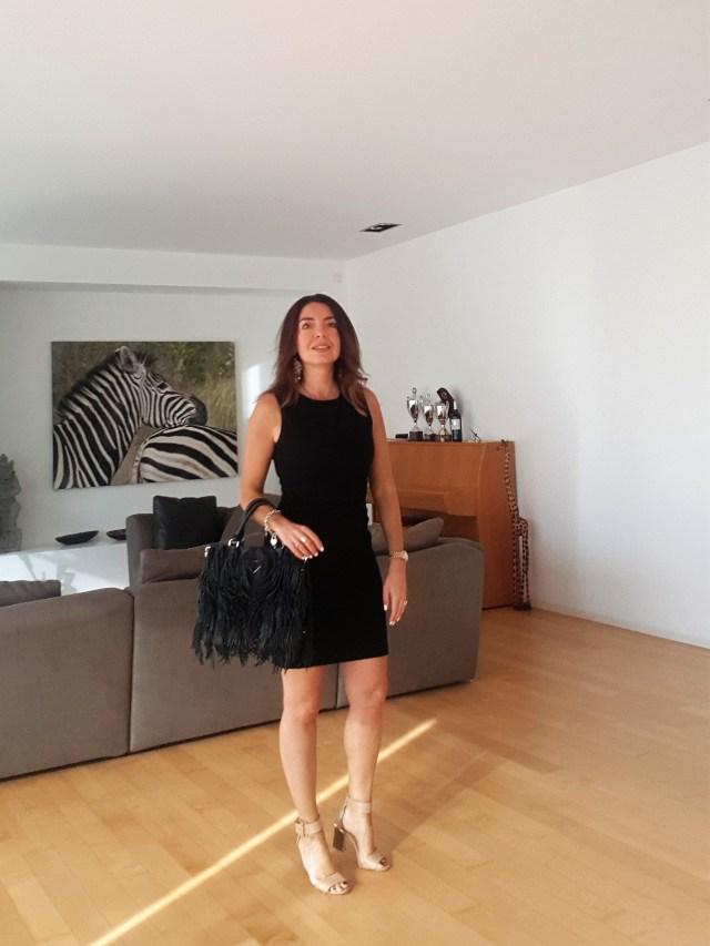 little black dress sleeveless