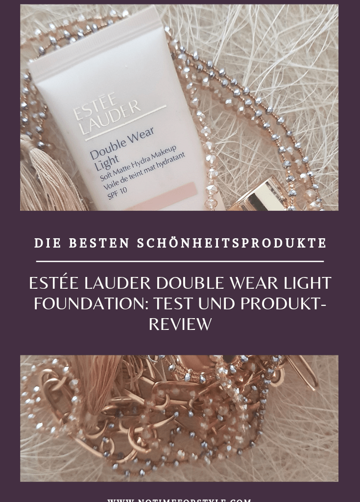 Estée Lauder Double Wear Light: Erfahrungsbericht