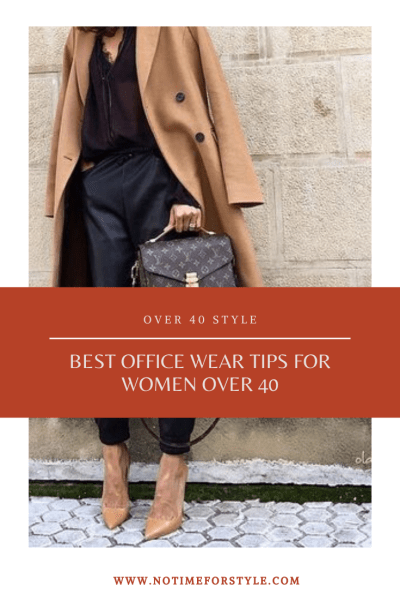 office wear for women over 40