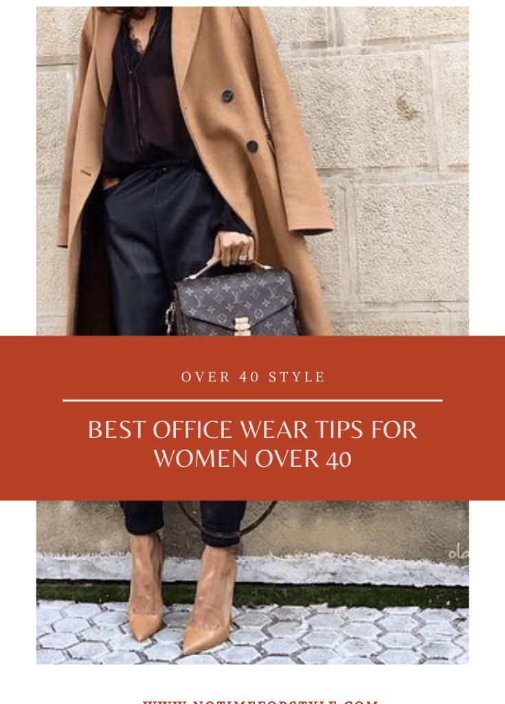 Best Office Wear Tips for Women Over 40