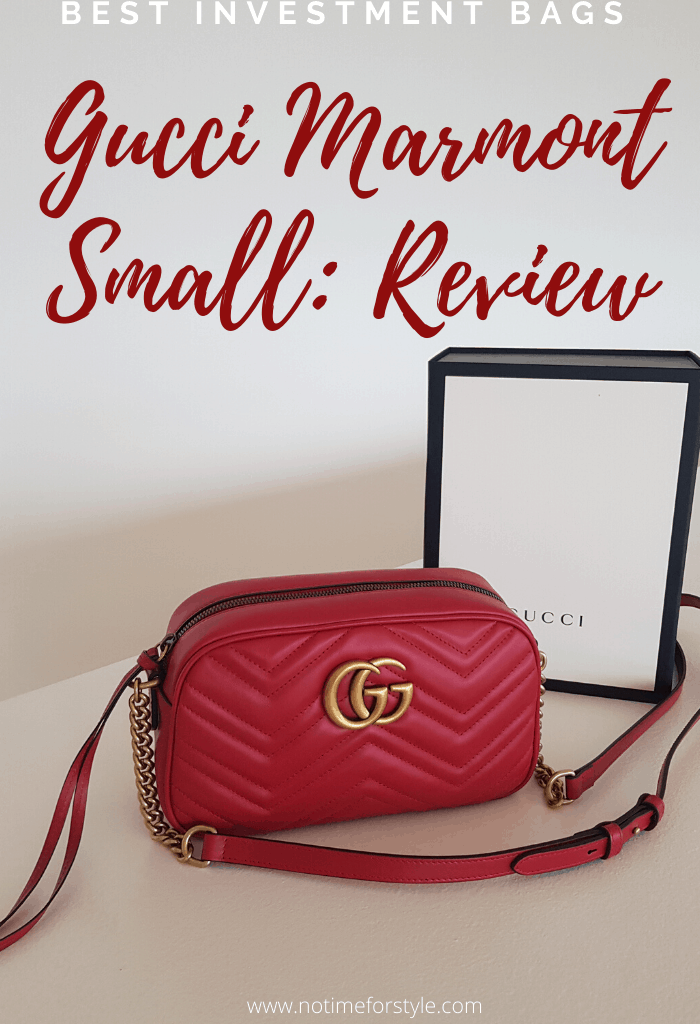 Best Investment Bags 2020: Gucci Marmont Review