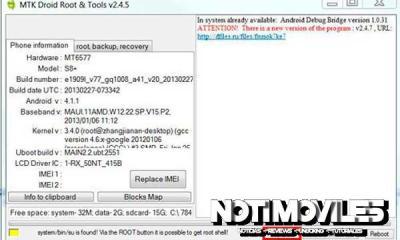 Instalar CWM en móviles chinos basados en MTK