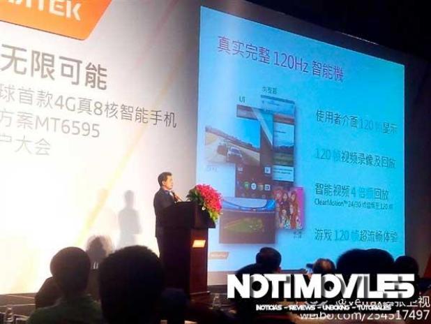 MT6595 Mediatek Presentación en Shenzhen 4