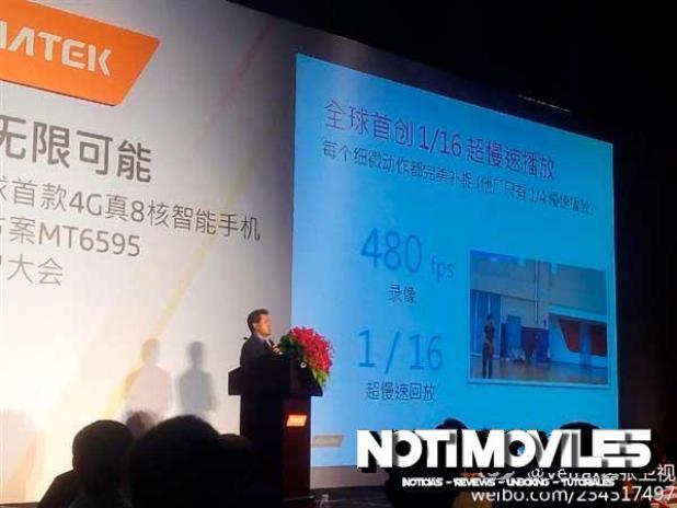 MT6595 Mediatek Presentación en Shenzhen 6