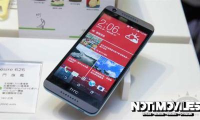 HTC Desire 626 Tiene un Diseño Atractivo
