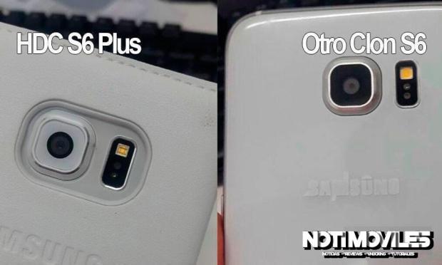 HDC S6 Plus Nuevo clones Samsung S6
