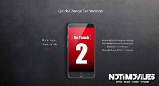 Ulefone be touch 2 ahora con pantalla FHD