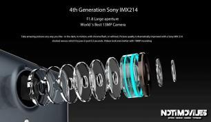 Ulefone Be Touch 3 con 3GB Ram, Cámara 13MP Sony IMX214 F/1.8