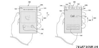 Samsung presenta una patente de pantalla deslizante