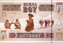 Download Anybody By Burna Boy
