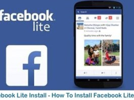 Facebook Lite Install Free Download