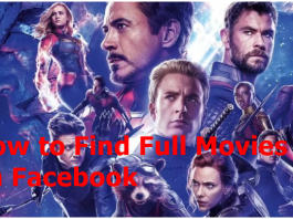 How to Find Full Movies on Facebook