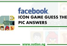 Facebook Messenger Guess the Icon Game