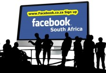 www.Facebook.co.za Sign up