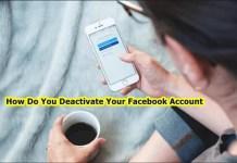 How Do You Deactivate Your Facebook Account