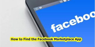 How to Find the Facebook Marketplace App