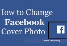 Change Cover Photo on Facebook