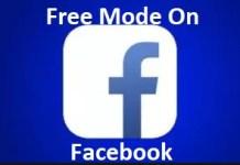 Facebook Free Mode Setting
