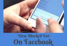 How to See My Blocked List on Facebook