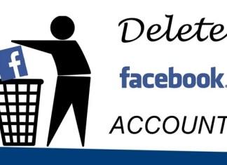 Deactivate Delete Facebook Account