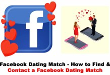 Facebook Match Dating