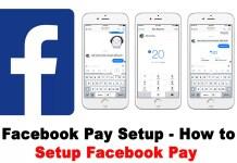 Facebook Pay Setup