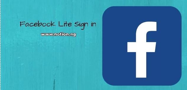 Download Facebook Lite App Now Facebook App Apk Install Facebook Lite App Notion Ng