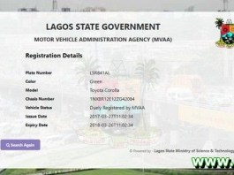 Check Vehicle Registration in Nigeria