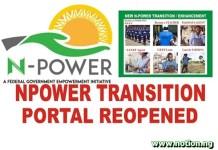 Npower Transition Portal