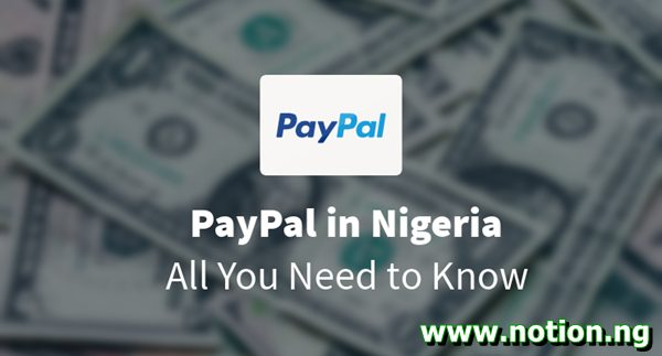 Paypal Business Account Nigeria -