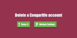 Delete My CougarLife Account