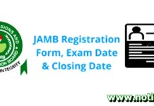 is Jamb Form for 2021 Out