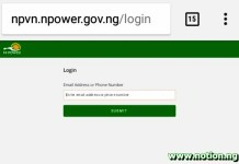 npvn.npower.gov.ng/my Profile 2021