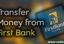 Firstbank Transfer Code