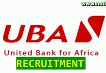 UBA Recruitment 2021