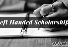 Scholarships For Left Handed High School Seniors