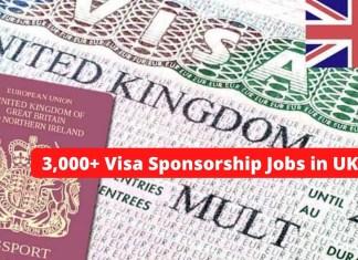 Visa Sponsorship Jobs