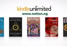Amazon Kindle Unlimited Bookstore