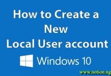 How to Create a Windows 10 Account