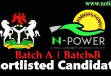 Npower 2nd Batch