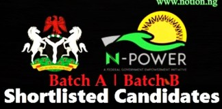 Npower 2nd Batch