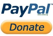 PayPal Donations Setup