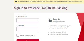 Westpac Bank Login
