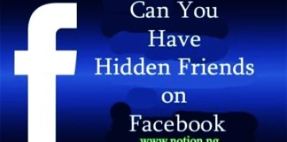 Can You Have Hidden Friends on Facebook