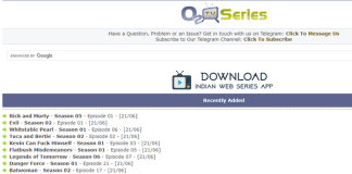 O2tvSeries Free TV Series