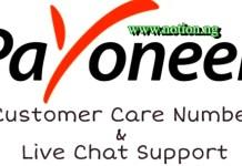 Payoneer Account Live Chat
