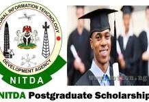 NITDA Postgraduate Scholarship